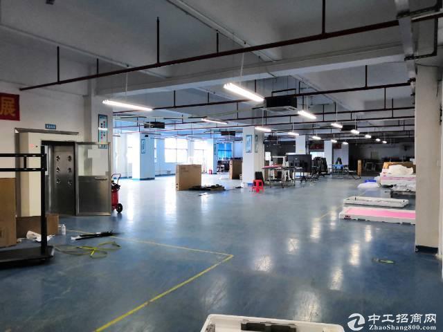 南山西丽珠光地铁口附近1200园区平厂房带装修