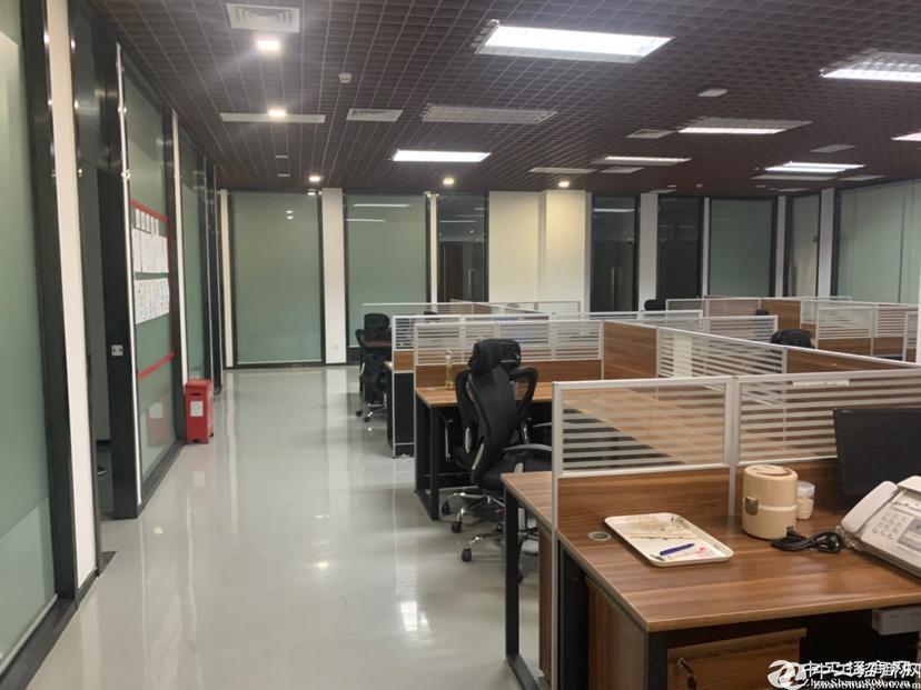 横岗四联现成办公室500平带家私免转让费