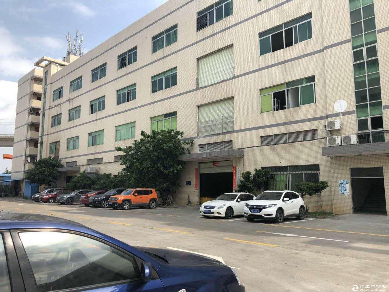 坪山比亚迪旁2楼1000平米厂房出租,带红本