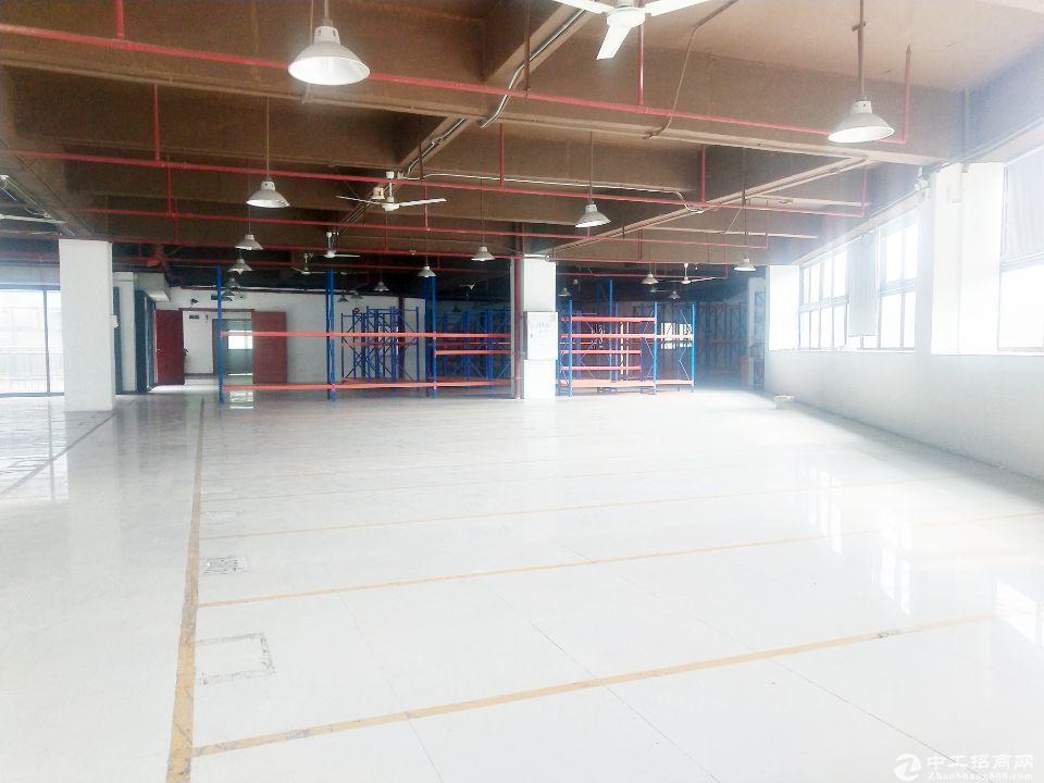 黄埔东区新出楼上1850平方原房东厂房出租
