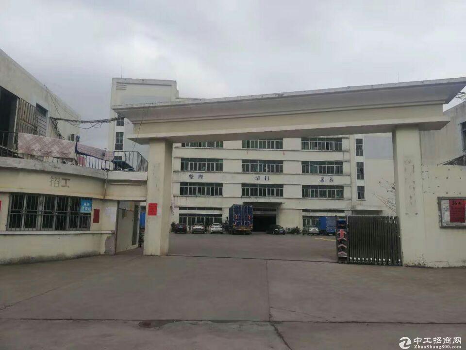 新圩塘口原房东工业园独栋钢构出租滴水7米证件齐全可办环评