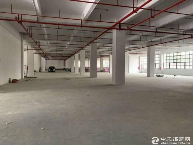 长安新出 原房东标准厂房138000平 可分租形象好空地大工业用