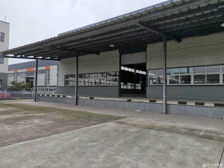 双流工业园区腾飞路附近标准钢结构厂房5700㎡可仓库能进大车