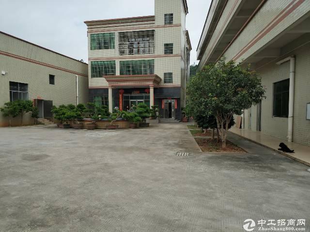惠阳新圩塘口7000平方钢构独院厂房出租...