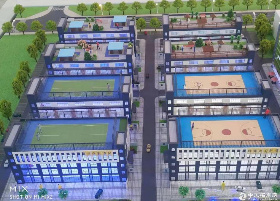 龙华大浪全新VR产业园2万平,14层5600平可做独门独院