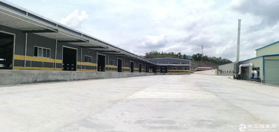 平湖机荷高速出口附近新出标准物流仓库10000平方大小可分租