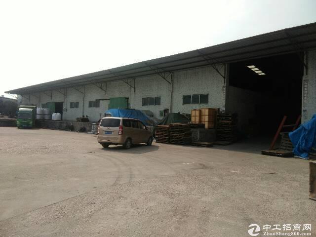 西丽新出3000平8米高带缷货平台仓库低价招租