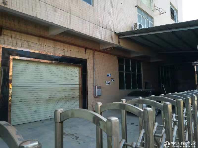 广州白云人和新出独院标准一楼厂房仓库750平,交通方便