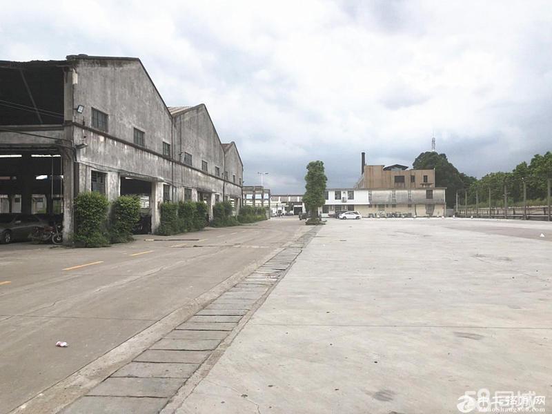 空地大,带独立办公,番禺桥南30000平方简易仓库出租0