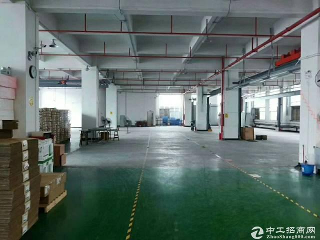 新塘镇沙埔标准厂房一楼1500平可办环评交通方便水电齐全证件齐全!!