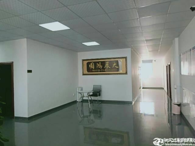 沙井沙三原房东二楼厂房1080平方实际面积出租合同5年