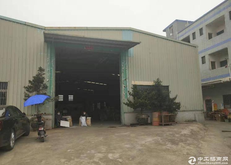 东莞市横沥镇原房东带五吨行车单一层750平方,租15块每平方