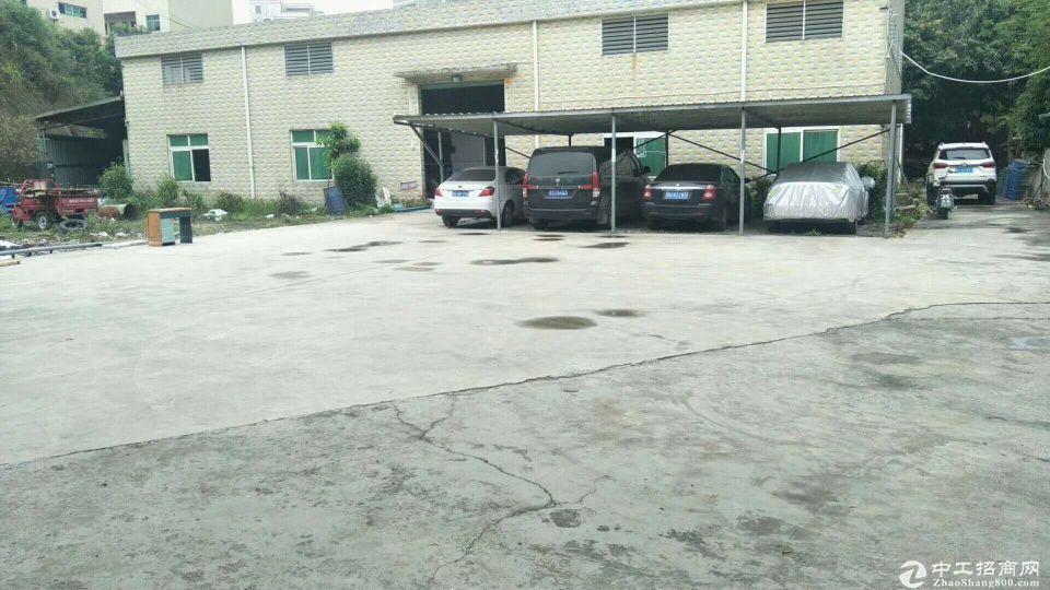 惠阳区淡水镇一手房东小独院钢构厂房700平方实际面积