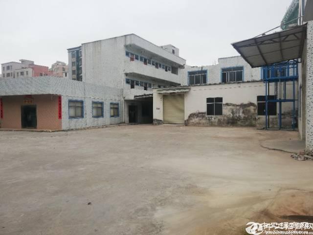 惠阳新圩镇业主急出手,独门独院标准厂房2层3600平,整租13块