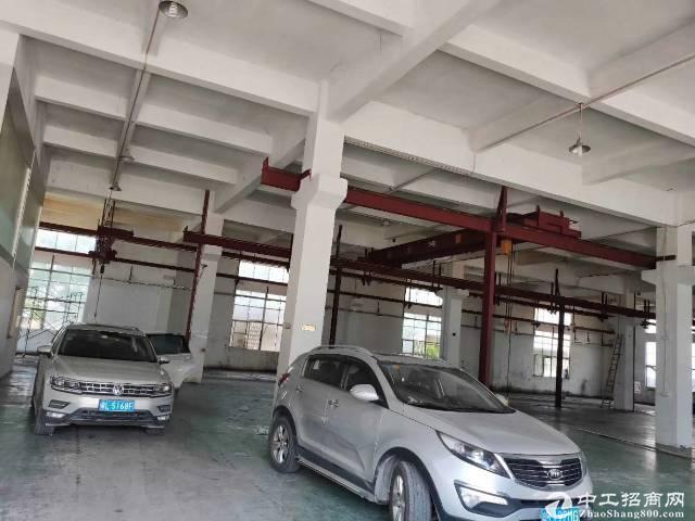 惠州三和独院标准厂房8850平出租,可分租可办环评