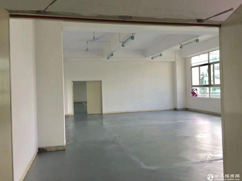 深圳龙华清湖地铁站附近原房东带红本楼上600平米厂房出租