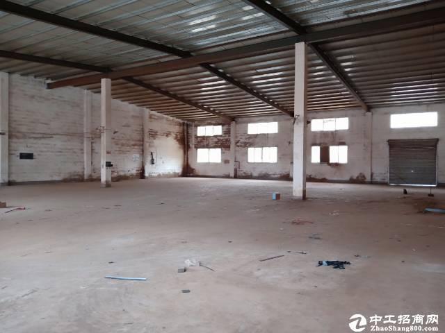 惠阳形象好原房东小独院单一层钢构厂房1000平米出租可分租