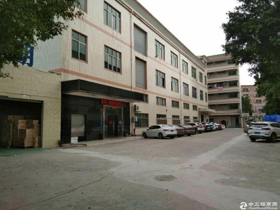 布吉南岭独院红本一楼和楼上带装修厂房出租