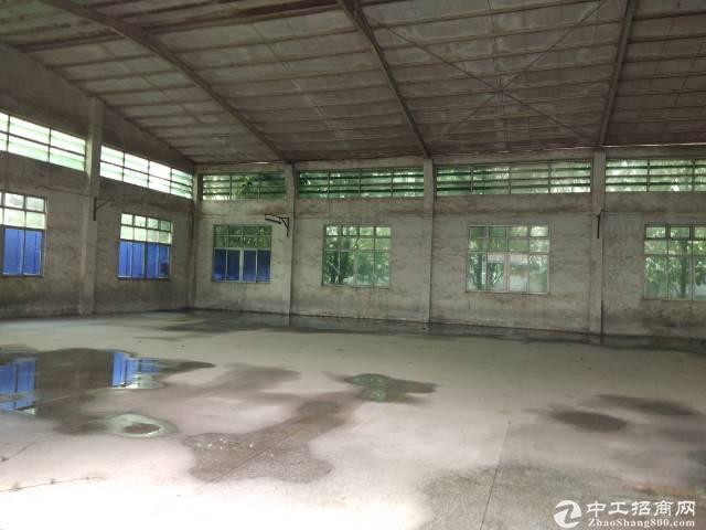 黄埔永和开发区九龙新出单一层园区2000平可办环评,可分租