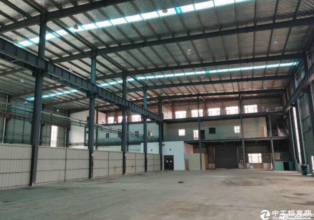 黄埔区钢构厂房6000平可租,带航吊,