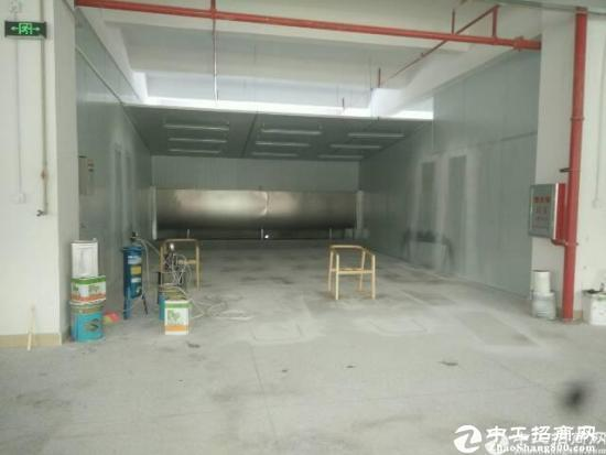现成独栋家私厂房5600平方带喷油房惠阳205国道边