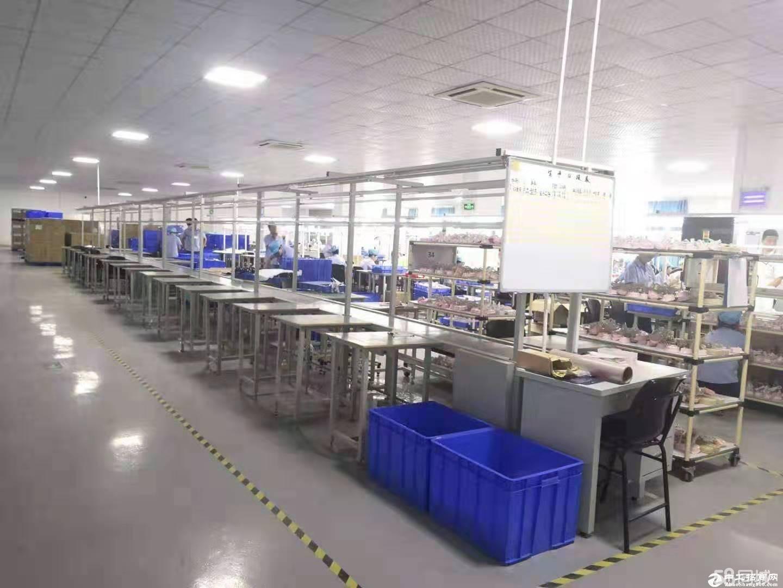 光明百花洞工业园区新出3万平方厂房仓库出租200分租一楼高六米合