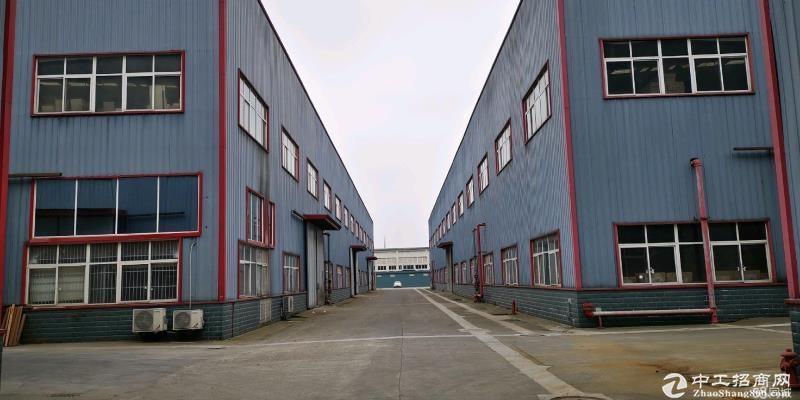 出租邛崃羊安标准钢结构厂房4000㎡家具生产能喷漆