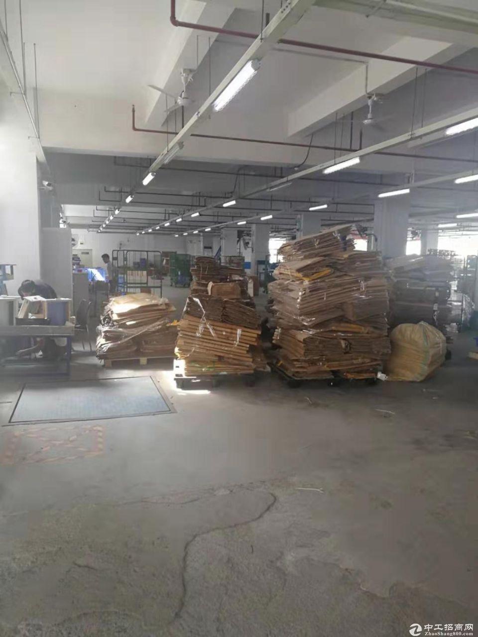 坂田雪象科技城 一楼2780平方带卸货平台出租!-图2