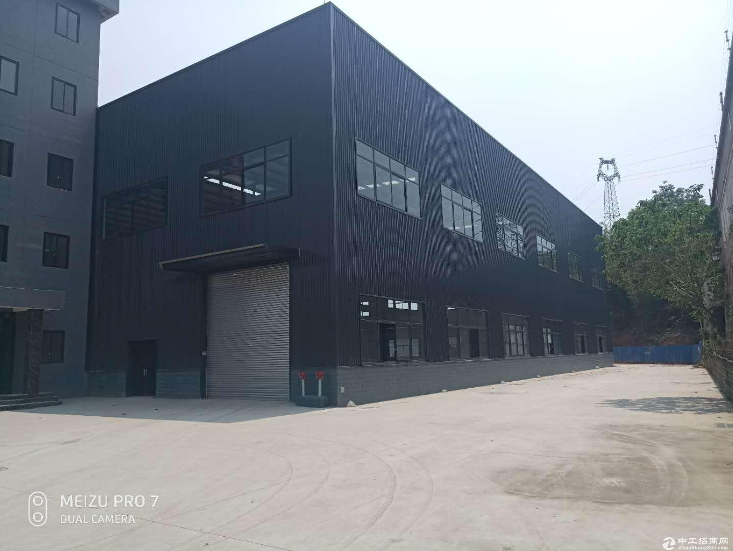 龙泉1500平框架结构厂房出售,独栋两层半