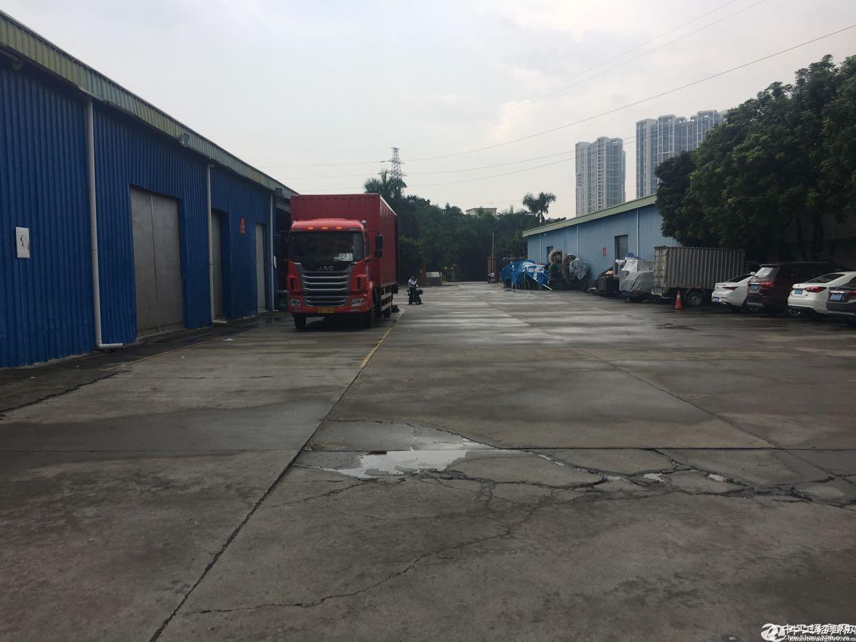 观澜福民高速公路口新出钢构8000平独门独院可以做临时仓库6米高