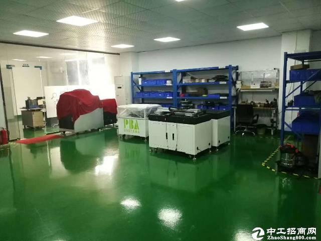 西丽南岗工业区精装带家私1100平可办公研发+仓库