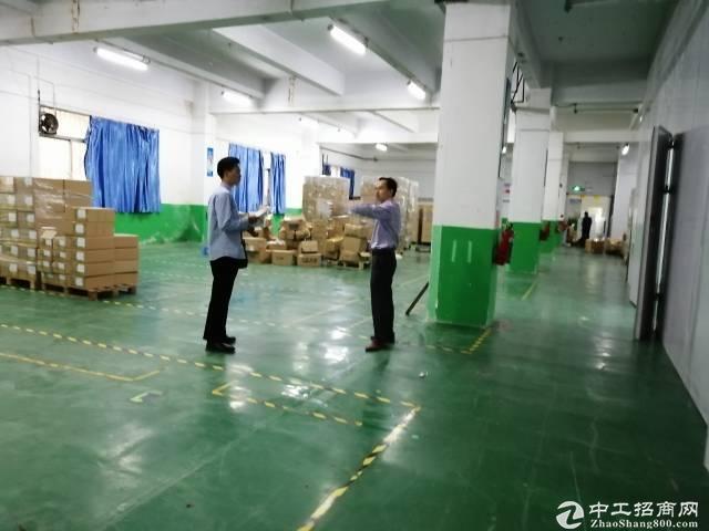 龙华大浪新出2万平工业园厂房仓库出租,200平起租转租空地大好停车。