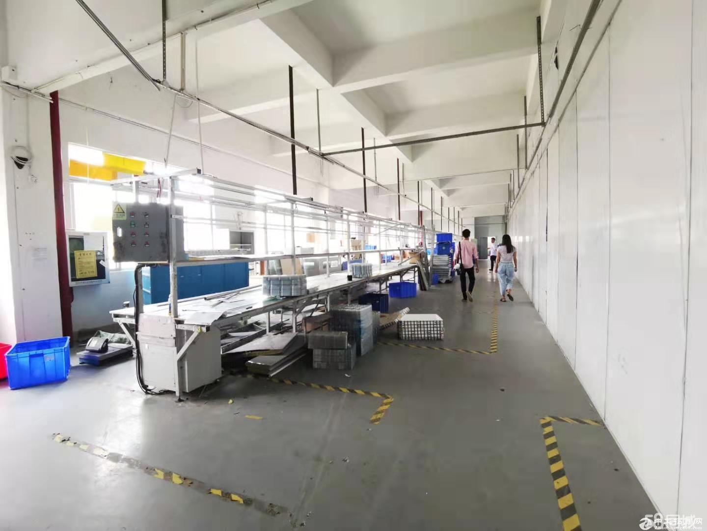 龙华观澜大和高速口1200平独门独院带地坪漆装修仓库生产厂房出租