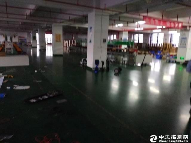 南山区西丽南光高速出口红本1300平红本带装修厂房特价出租