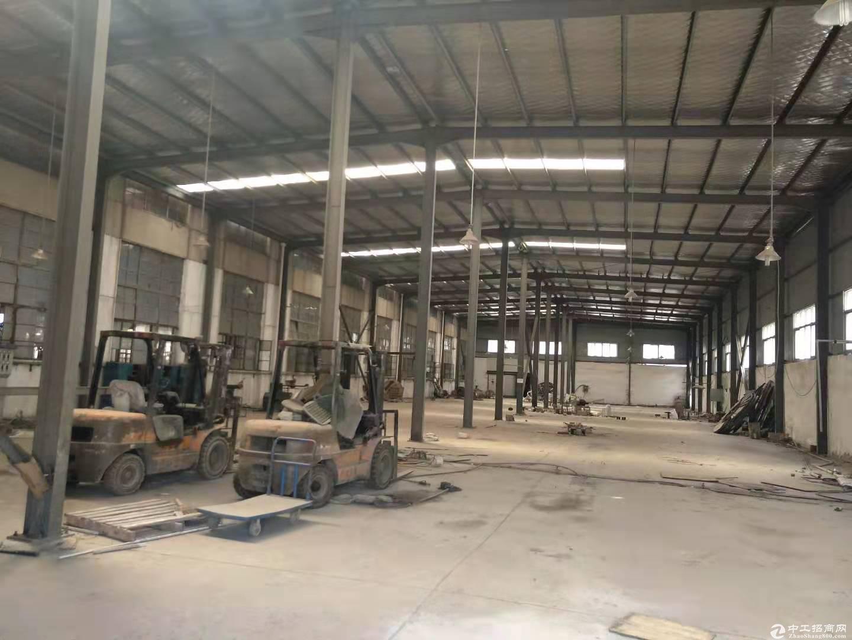 厂房5000平米,带行车10号,生产轻加工,配套食堂办公宿舍