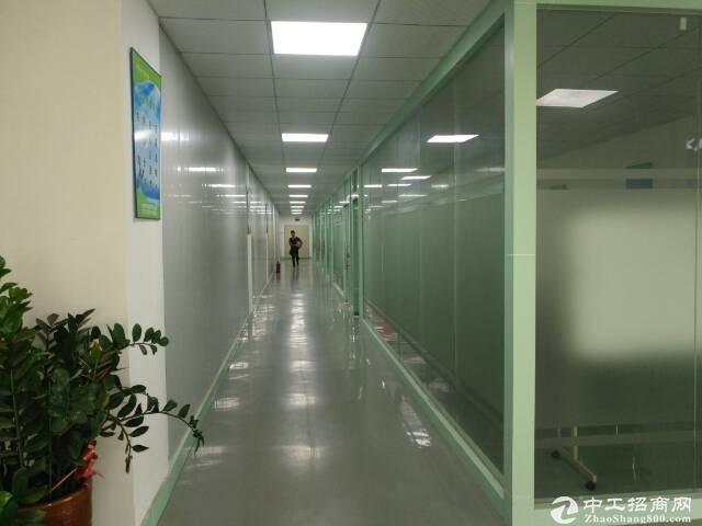 人和原房东楼上整层1080平方带装修光电厂房出租、证件齐全