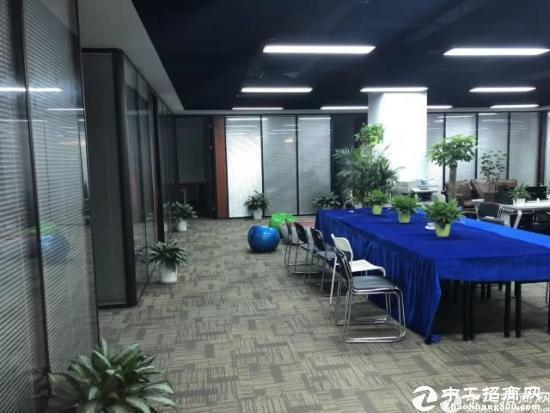 南山西丽留仙大道大学城地铁口精装修600平办公厂房出租