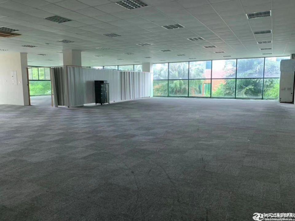 惠阳新出花园式钢构独院厂房29800平方可分租证件齐全