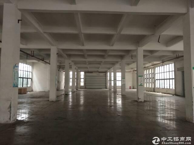 厂房1820平米,电梯2吨,配套宿舍食堂,可分租