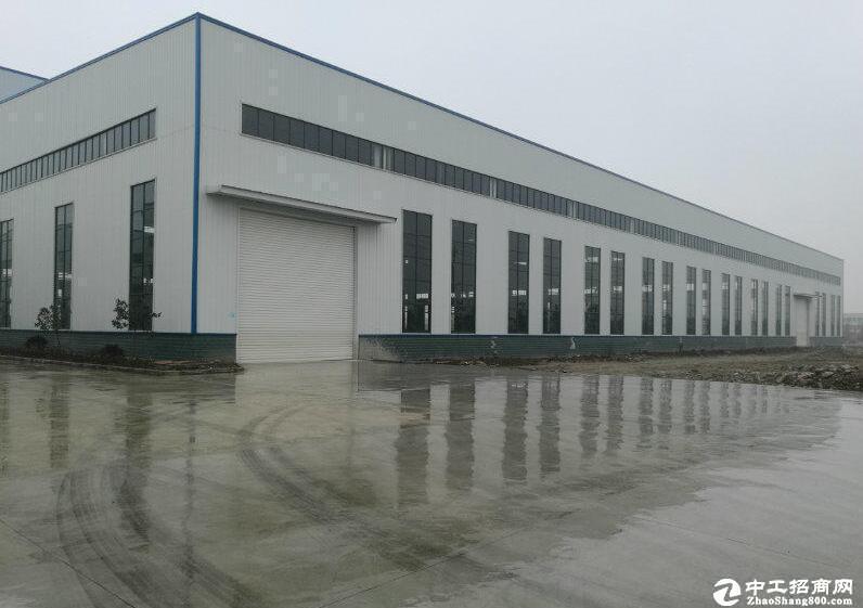 厂房2100平米,钢构一楼,配套办公住宿,标准工业园