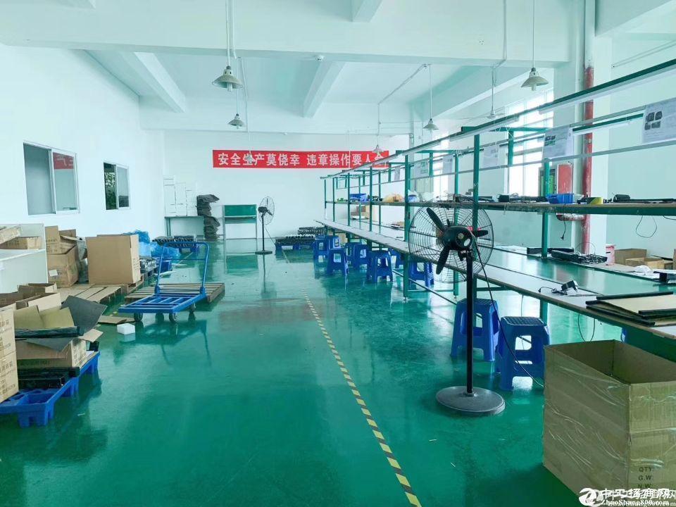 南山西丽阳光工业区950平精装厂房招租