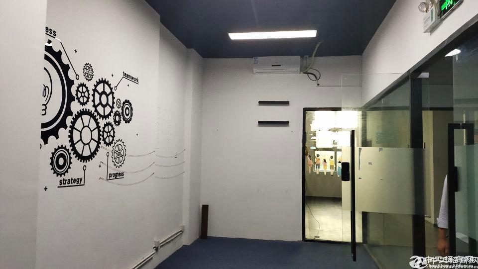 西丽大学城地铁地铁口900平带装修高使用率办公厂房出租