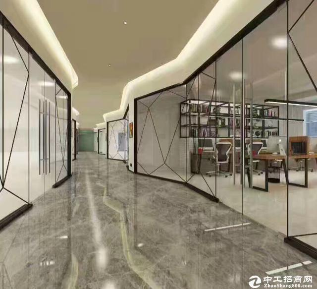 西丽国际e城精装280平带家私园林式办公户型方正图片2