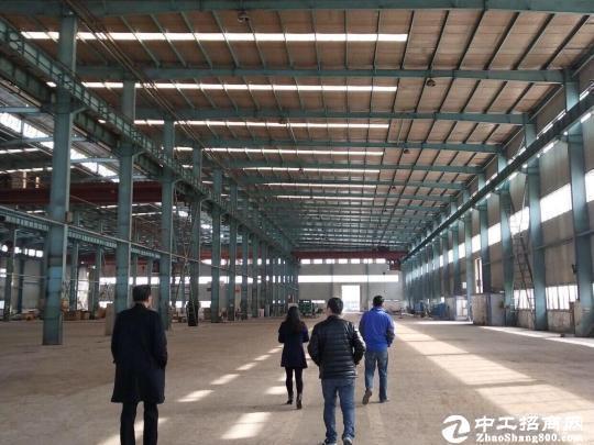 黄陂盘龙城厂房单层钢钩,层高13米,可分租