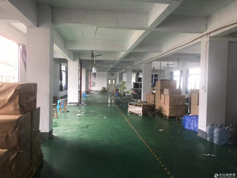 花都 新华团结村工业园独院楼上分租950平厂房出租