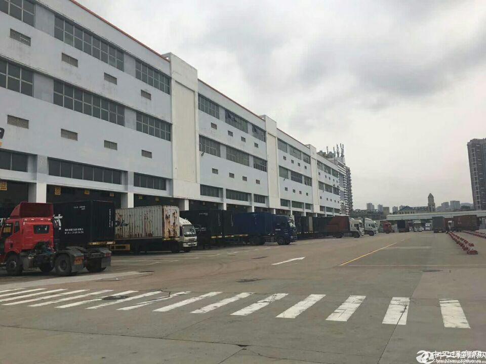 深圳龙华梅林关附近新出仓库1-3层共10000平招租,带消防喷淋。