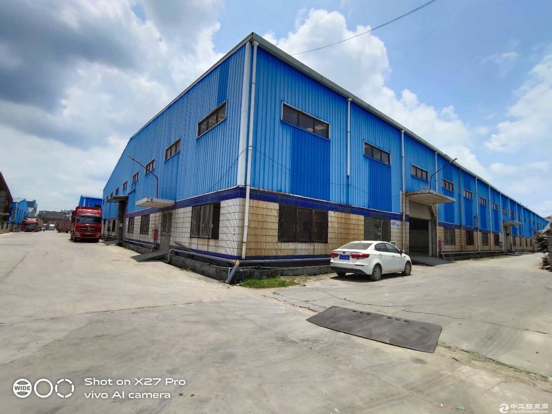 塘厦大型产业园内分租钢构厂房,一栋3000平方,全新,空地大