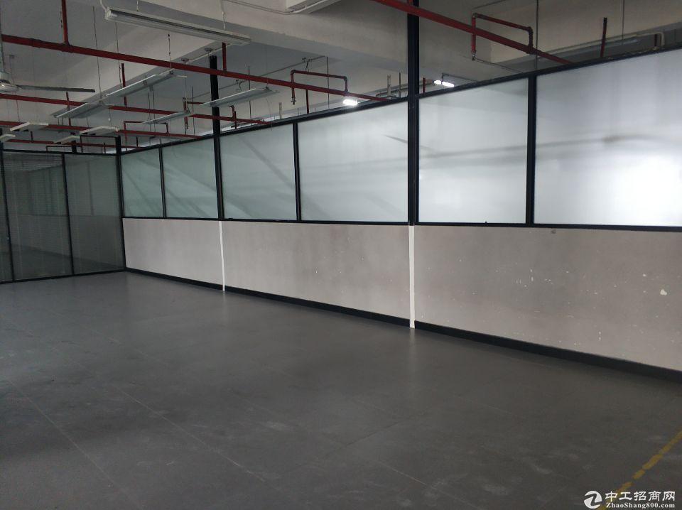 龙华大浪新百丽附近新出带装修楼上厂房办公仓库招租600平~1300平