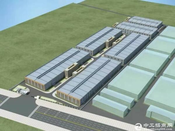 产业园单层钢结构全新厂房
