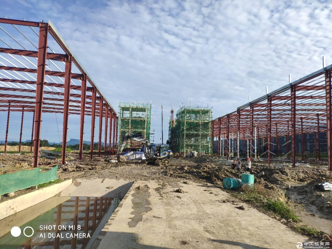 产业园单层钢结构全新厂房-图3